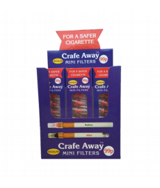 12 x packs of Crafe Away Standard Cigarette Filters