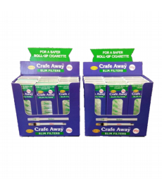 24 x packs of Crafe Away Roll up filters