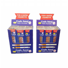 24 x packs of Crafe Away Standard Cigarette filters